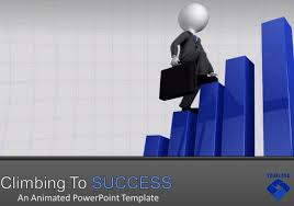 Animated Ppt Presentation Business Presentation Template For Powerpoint With Animated 3d Graphs