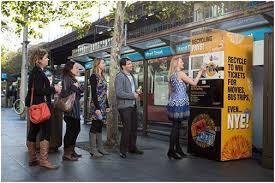 Sydney Vending Machines Unique City Of Sydney Installs Recycling Machines Kiosk Marketplace