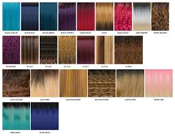 Janet Collection Wig Color Chart Color Chart