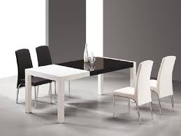 modern furniture dining table. Black-white-table. This Contemporary Black And White Dining Modern Furniture Table N