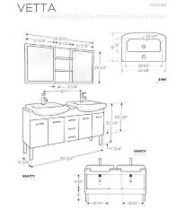 standard double sink size small double vanity dimensions double standard double sink vanity size