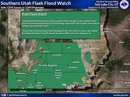 Weather alert: Flash flood watch issued ...