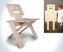 robochair folding chair wall art