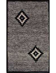 mottled black and white carpet scandinavian style
