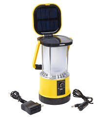 Solar Camping Lamp Clap Dimbaar Met Usb Lader En Kompas Op Zonne