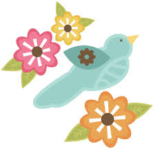 Free bird vector download in ai, svg, eps and cdr. Bird With Flowers Svg Files For Cutting Machines Free Svg Files Free Bird Svg Cut Files Cute Svg Cuts