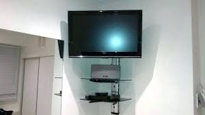 Tv Wall Mounts With Shelves For Corners