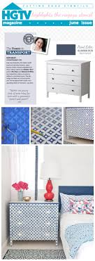 hgtv magazine 2014 furniture. A DIY Bone Inlay Inspired Dresser Using The Nagoya Stencil On Koppang Chest. Http Hgtv Magazine 2014 Furniture E