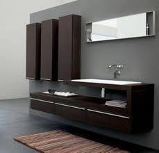 modern bathroom cabinets. Bathroom-cabinet-modern-dark1 Modern Bathroom Cabinets O