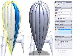 Circular Pattern Solidworks Stunning How To Model A Citrus Squeezer In SolidWorks LearnSOLIDWORKS