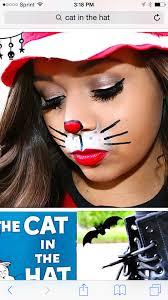 simple cat in the hat face paint original