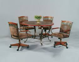 dining room chairs with wheels createfullcircle pertaining to kitchen table chairs with wheels