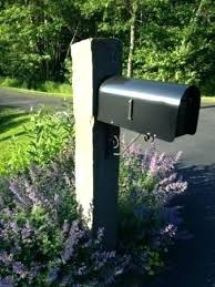 Wooden Mailbox Posts We Build Wood Mailbox Posts In Ma Wooden Double