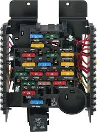 nova parts electrical and wiring switches and fuses painless universal 20 circuit ato fuse block assembly