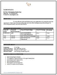 excellent and beautiful fresher engineer it resume sample fresher resume sample
