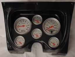 carbon fiber panels fast lane west dash panels gauge wiring 67 68 chevy camaro firebird cf dash w elect ultra lite gauges