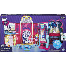 my little pony equestria s canterlot high playset