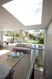 herondale sliding glass doors in double height rear extension