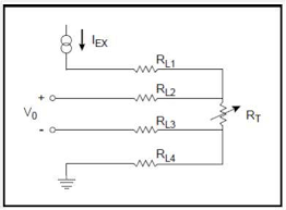 4 wire rtd configuration for high accuracy scientific diagram 4 wire rtd configuration for high accuracy