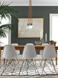 the light this chair flaunts a mid century modern design and fresh and clean look for a dining room or living room these eames inspired chairs are a