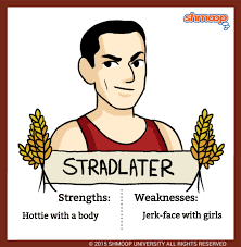 stradlater in the catcher in the rye chart stradlater