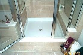 custom shower bases shower bases pans custom shower pan kits tile shower pan kit base