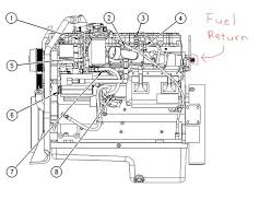cat engine fuel system diagram wiring diagrams online
