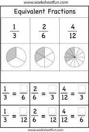 Understanding Fractions Worksheet - wiildcreative
