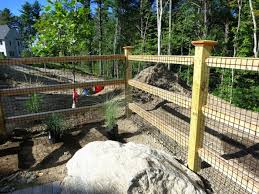 black welded wire fence. Cedar Square Rail With 2x2 Black Welded Wire Fence