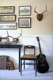 decorating ideas with deer antlers