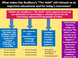 night essay for this unit you will compose an essay instead of  what makes ray bradbury s the veldt still relevant as an important educational tool for today s classrooms