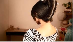 Chopstick Hairstyle long hair french twist hairstyle using chopstick french twist 7252 by wearticles.com