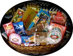 dolce large gift basket