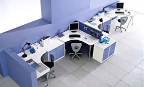Modern Office Decoration Fresh And Minimalist Office Decorating With Colorful Furniture Ideas Modern Decoration