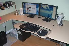 ... How To Make Your Own Computer Desk Build Your Own Custom Ergnomic Desk  Lifehacker Australia 42Inch