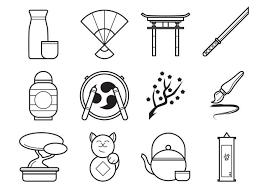 日本語iconイラスト材料ダウンロード 愛らしいパターン イラスト無料