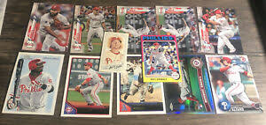 Philadelphia Phillies Baseball Card Lot Aaron Nola, Chase Utley, Ryan  Howard   eBay