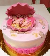 Baby Girl Twins Cake