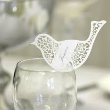 bird laser cut place card wedding mall wedding decorations Laser Cut Wedding Place Cards bird laser cut place card wedding mall wedding decorations, table centrepieces, favours black laser cut wedding place cards