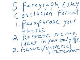 five paragraph essay conclusion most viewed thumbnail