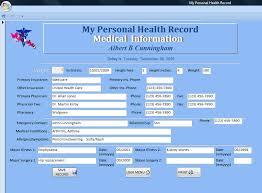 Personal Health Record Rome Fontanacountryinn Com