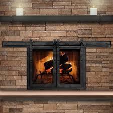 the paterson sliding masonry fireplace