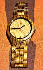 watch giveaway treehut s all zebrawood olive ash watch