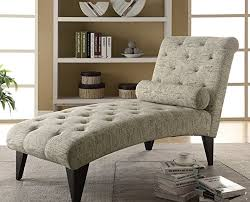 office chaise. Amazon.com: Modern Home Office Chaise Lounger - Made Of Wood Cushion Are Filled With Foam-vintage French Fabric Lounge Pillow: Kitchen \u0026 Dining I