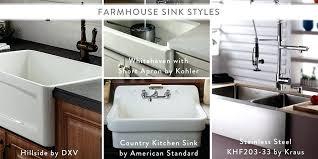 farmhouse sink options industry trends sinks kohler whitehaven 30 farmhouse sink