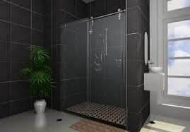 sliding tub shower doors and bathtub with sliding glass doors shower stalls enclosures ideas