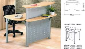 office reception table. Office Furniture Singapore Partition Reception Table 2