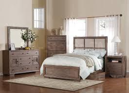 T Distressed Wood Bedroom Set