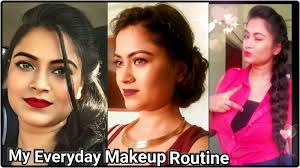 my everyday makeup routine basic makeup foundation tutorial for indian olive tan brown skin tone you