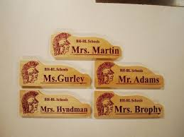 3d school teacher name plate